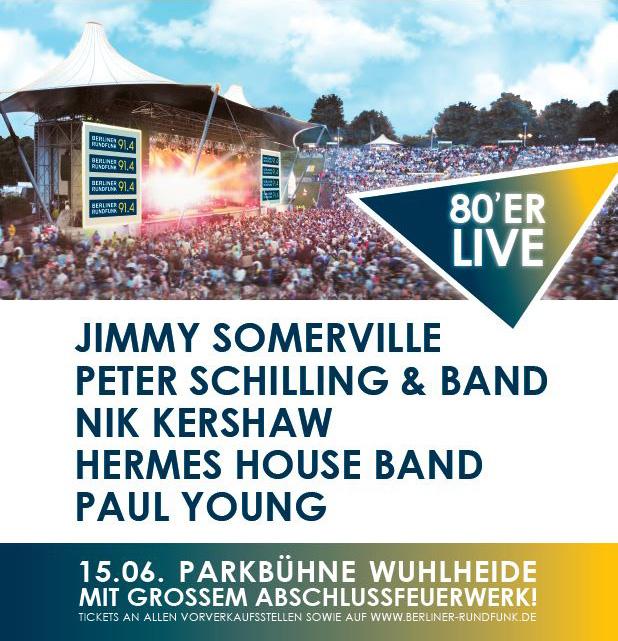 Berliner Rundfunk 91.4 holt Nik Kershaw und Paul Young nach Berlin
