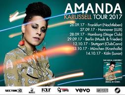 Amanda geht auf 'Karussell Tour 2017'