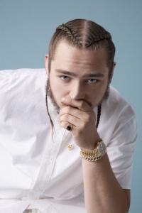Post Malone ueberrollt mit 'rockstar' die internationalen Charts