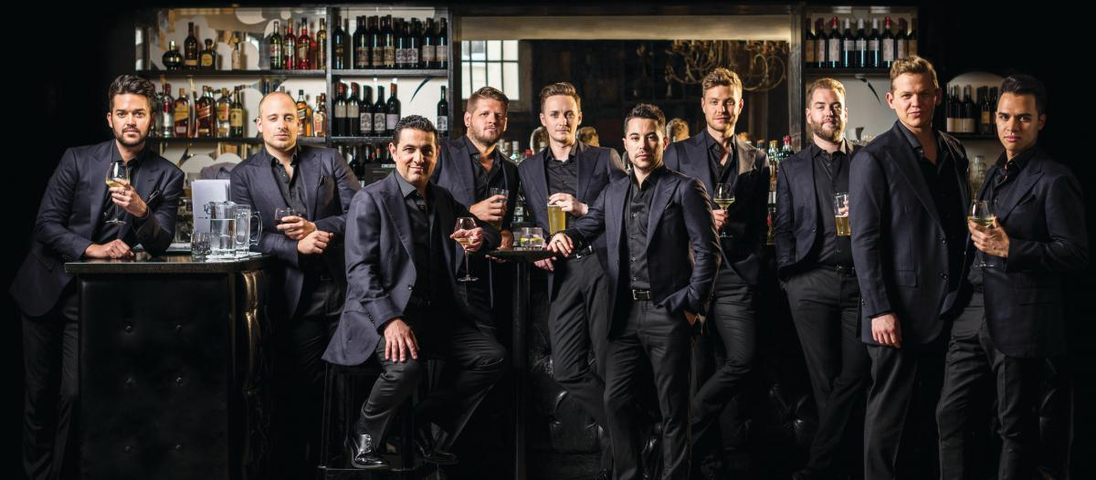 The Ten Tenors im April 2018 auf 'Wish You Were Here' Tour