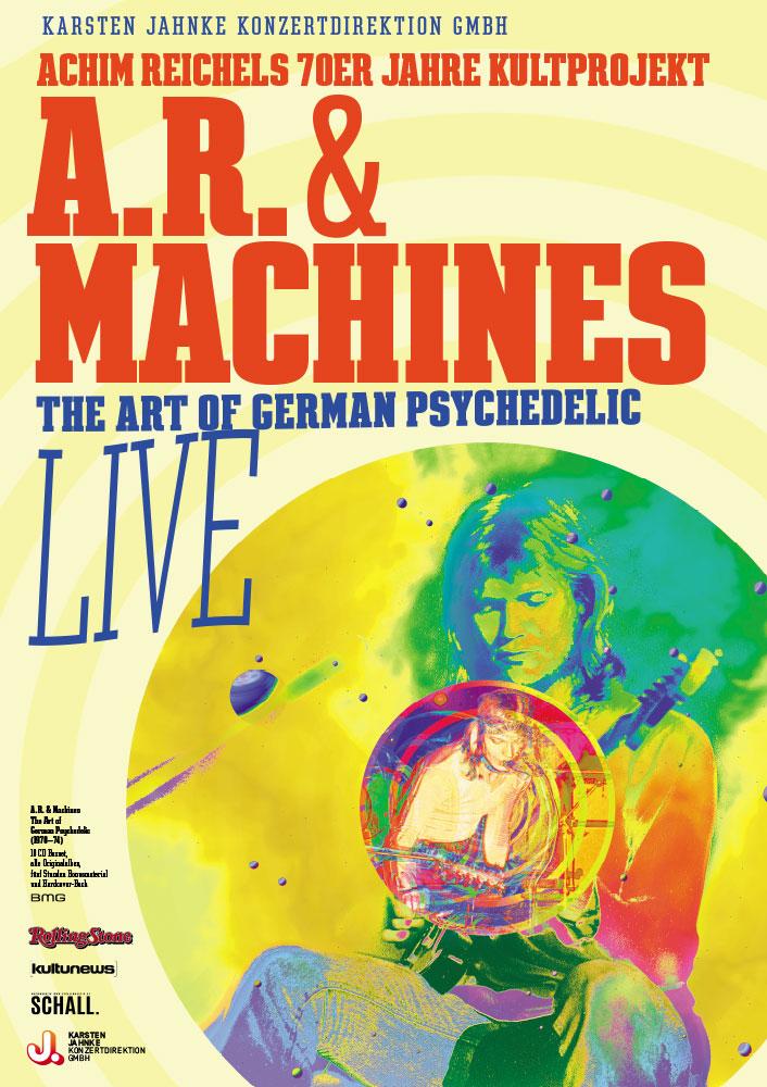 Achim Reichel geht mit seinem Kunstprojekt A.R. & Machines auf Tour