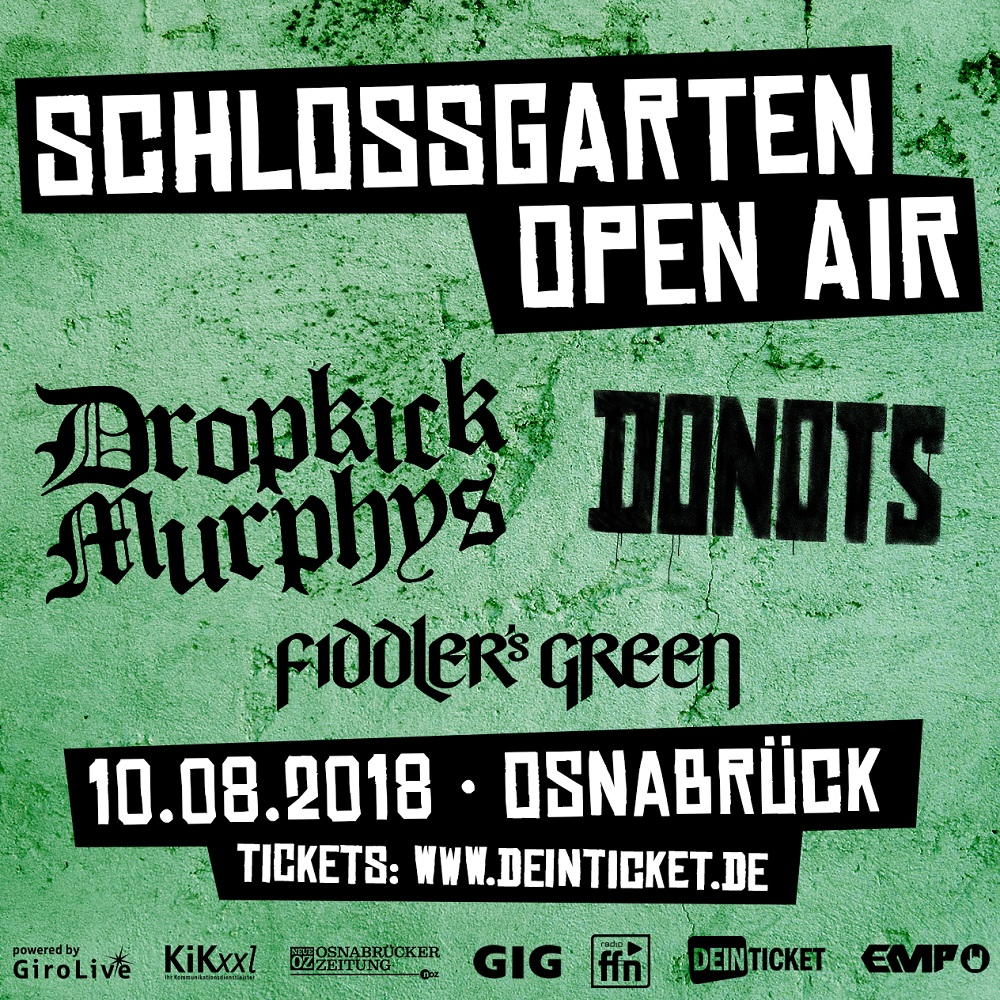 Schlossgarten Open Air 2018 – Line Up komplett!