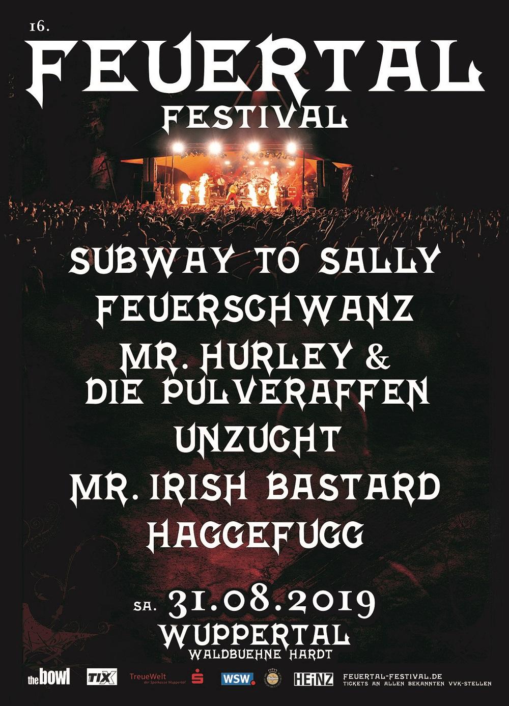 15. FEUERTAL FESTIVAL – Line Up im Jubiläumsjahr bestätigt