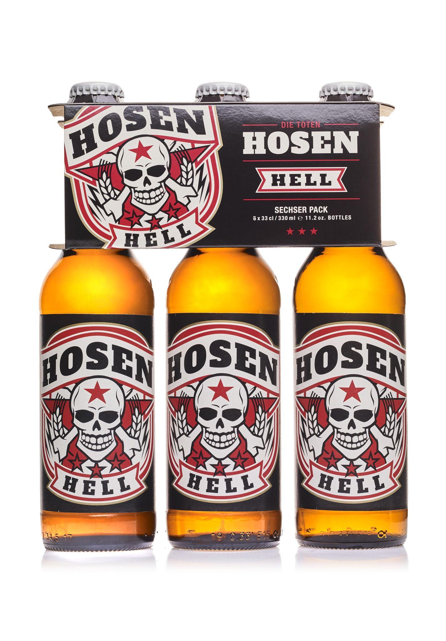Die Toten Hosen praesentieren ihr eigenes Bier