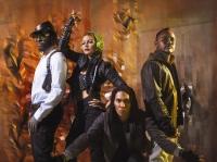Black Eyed Peas feiern die Zeit ihres Lebens