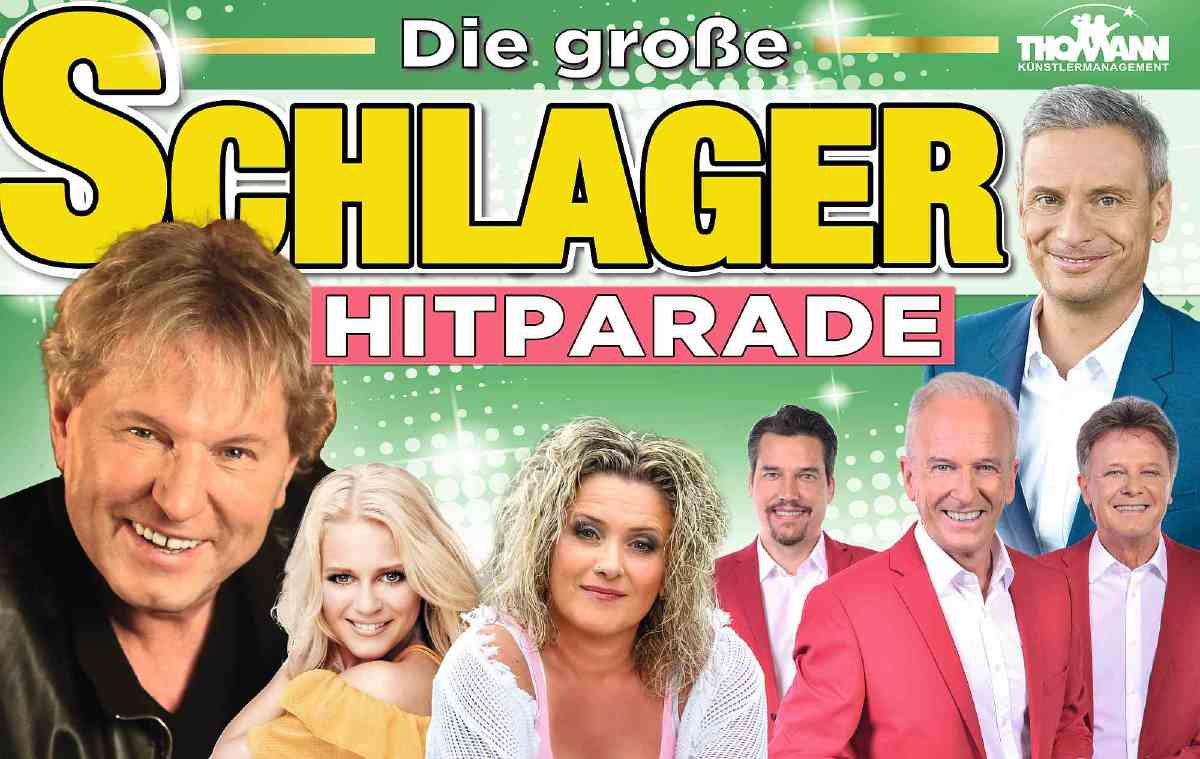 'Die grosse Schlager Hitparade'  mit Bernhard Brink und den Calimeros auf Tour