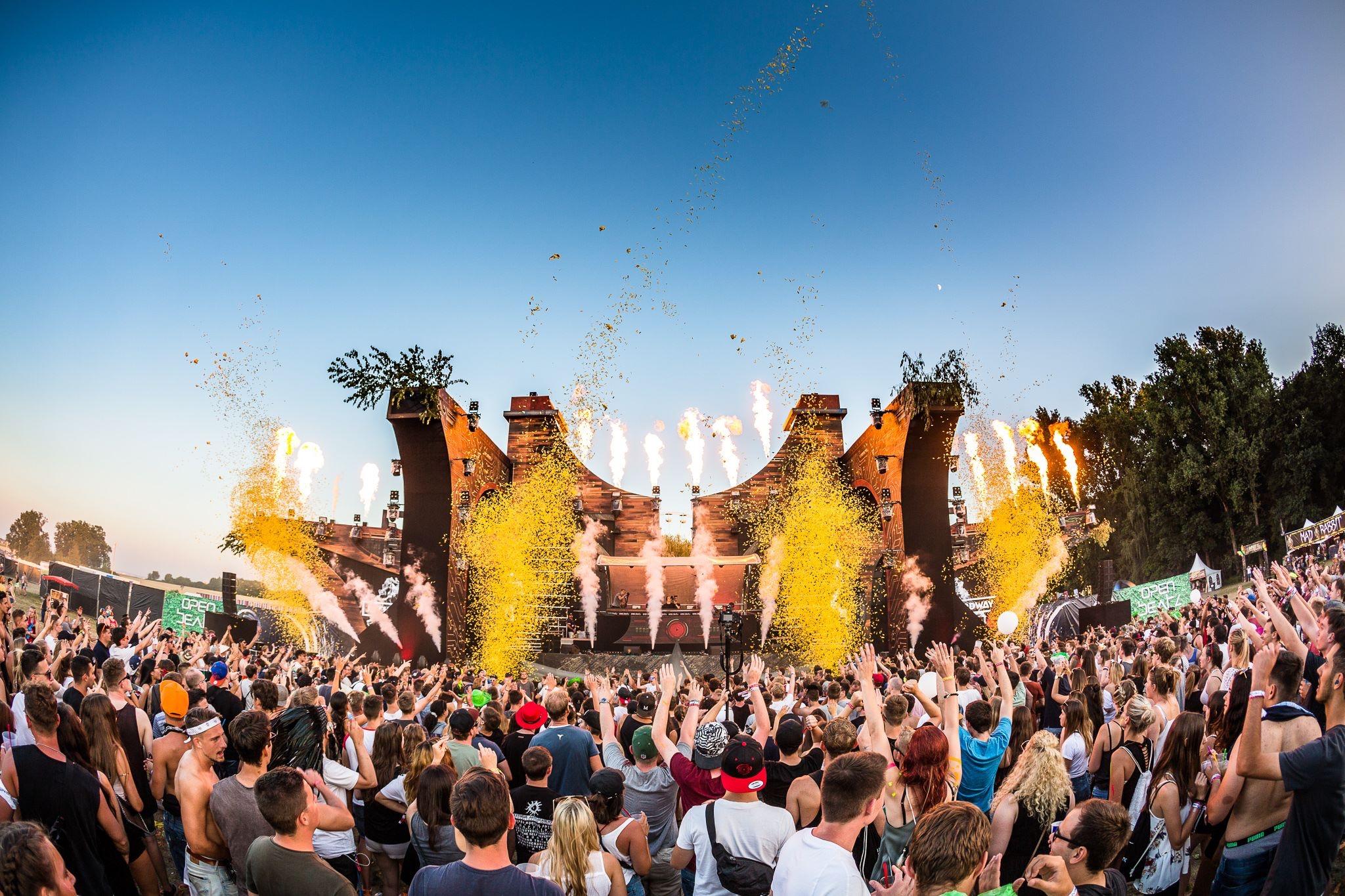OPEN BEATZ -  elektronisches Musik Festival mit coolem Line Up