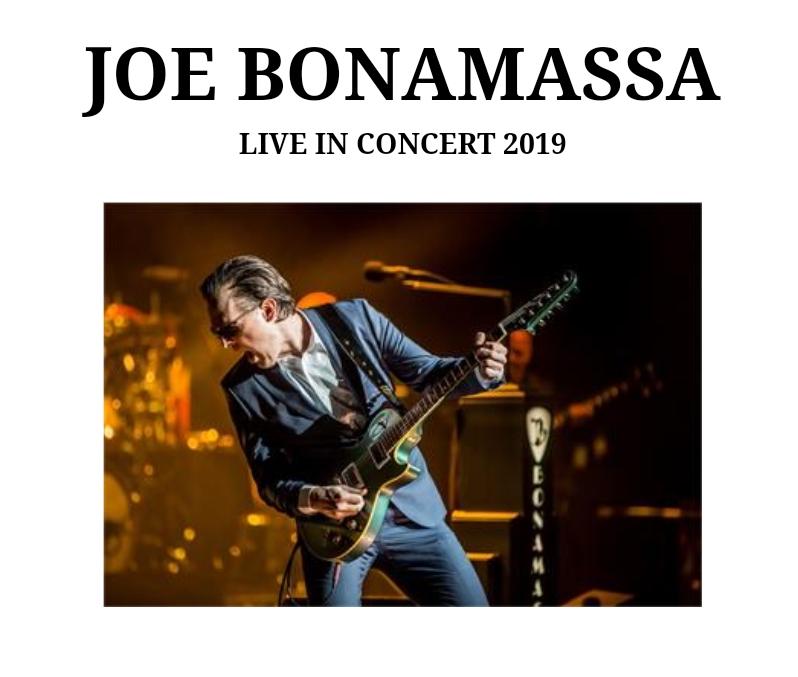 Joe Bonamassa kommt 2019 auf Tour!