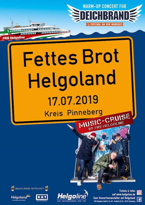 Fettes Brot laedt ein zum Warm-Up Konzert auf Helgoland