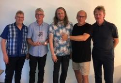 'Runrig' erhalten 'Nummer 1 Award der Offiziellen Deutschen Charts'