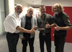 'Santiano' holen erneut 'Nummer 1 Award der Offiziellen Deutschen Charts'