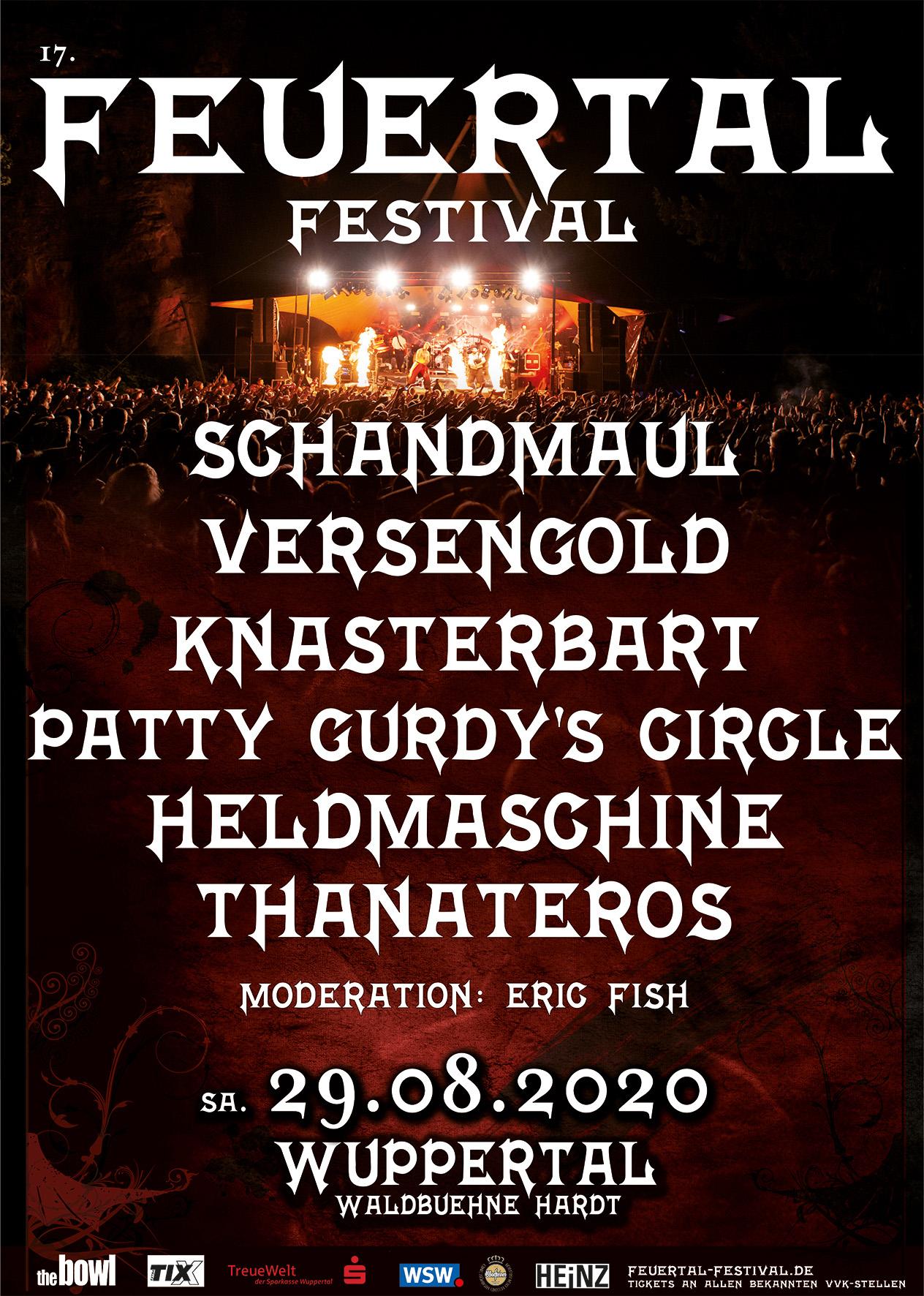 Schandmaul, Versengold.. das Feuertal-Festival 2020 wird wieder heiß