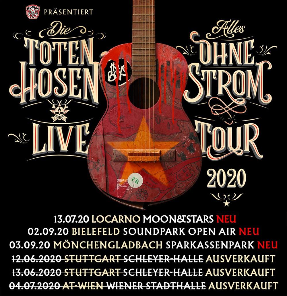 Die Toten Hosen: 20 von 29 Konzerten ausverkauft