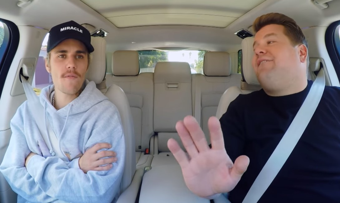 Justin Bieber 'Carpool Karaoke' 2020