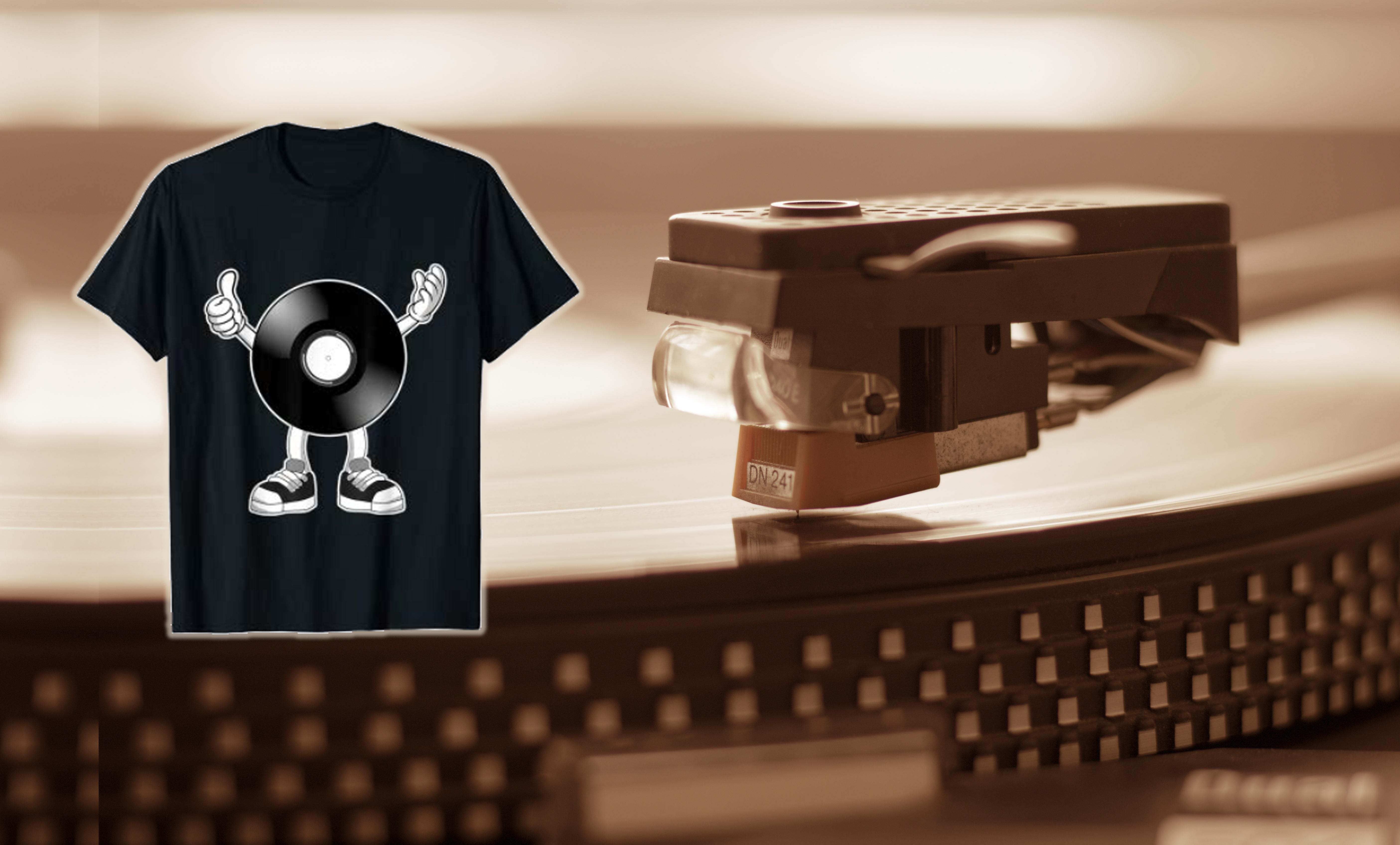 mix1 praesentiert Vinyl-Liebhaber T-Shirt