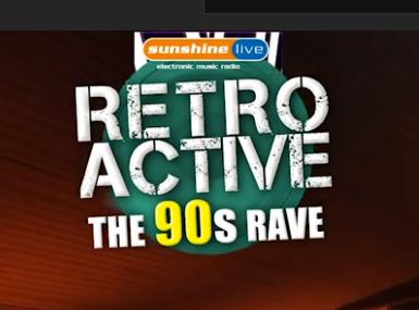 Radiosender sunshine live animiert virtuellen 90er-Rave
