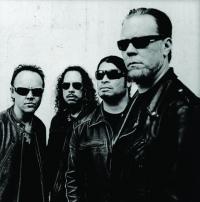 'Metallica' haben Spass beim Musik machen in Quarantaene