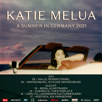 Katie Melua laedt zum Open-Air 'A SUMMER IN GERMANY'
