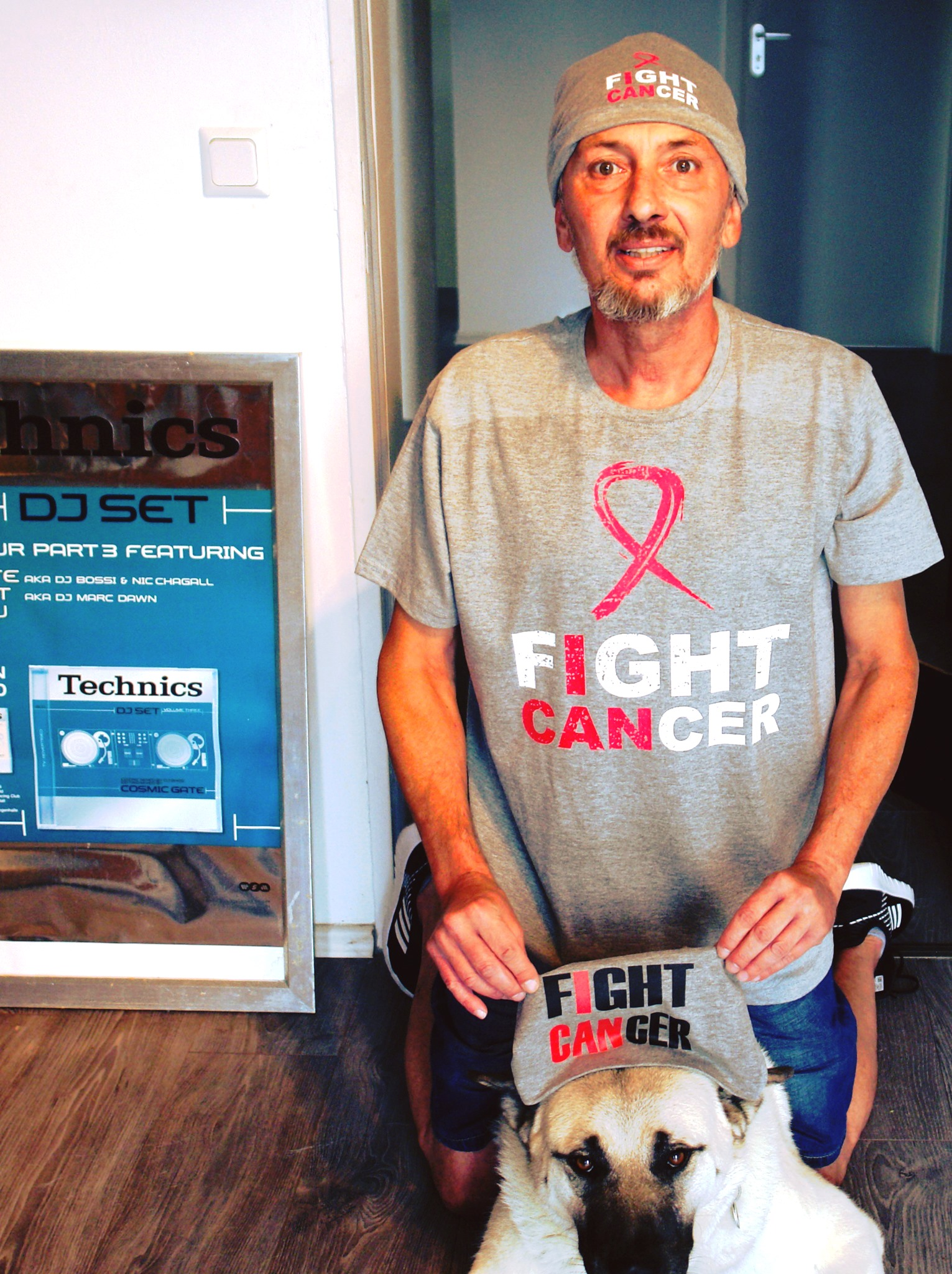 Michael Urgacz aka Beam kaempft oeffentlicht gegen Krebserkranknung