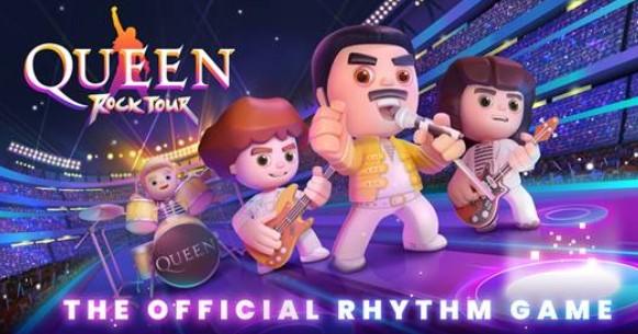 Rockband Queen praesentiert offiziellen Spiel fuer Android- und iOS-Geraete