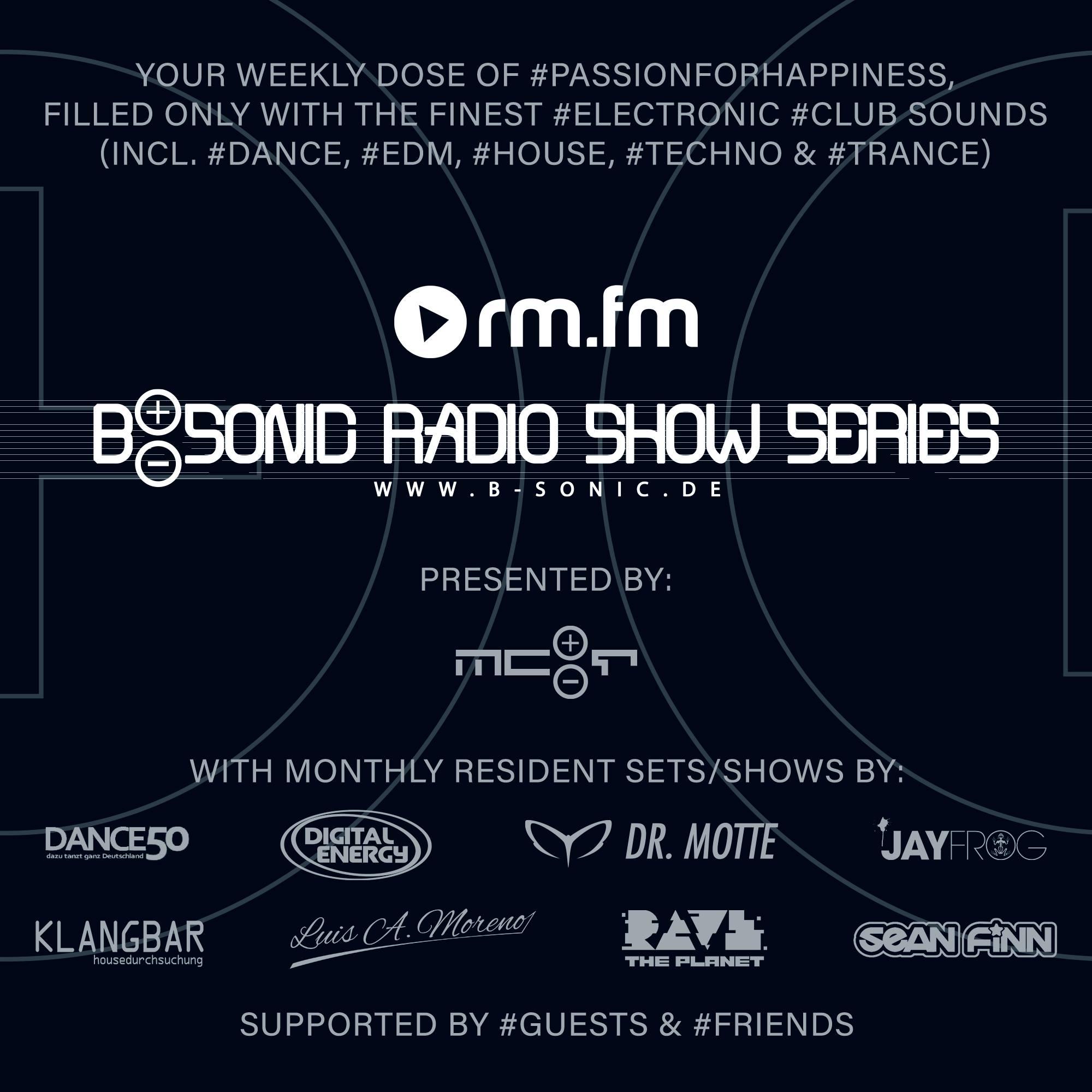 B-Sonic Music kündigt die 'B-Sonic Radio Show Series' an