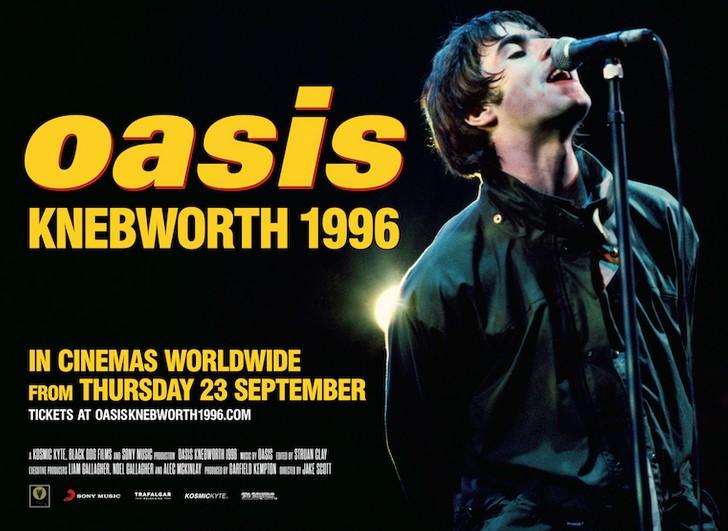 Oasis enthüllen Trailer zur Kinodokumentation 'Oasis Knebworth 1996'