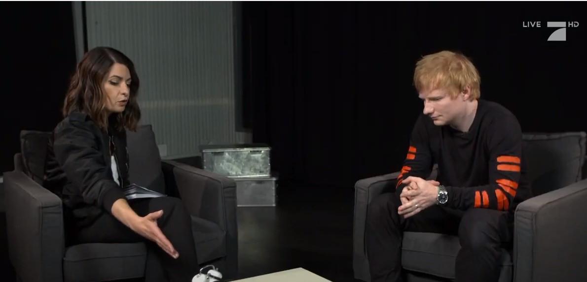 15 Minuten mit Ed Sheeran - Der Weltstar im Fragenhagel!